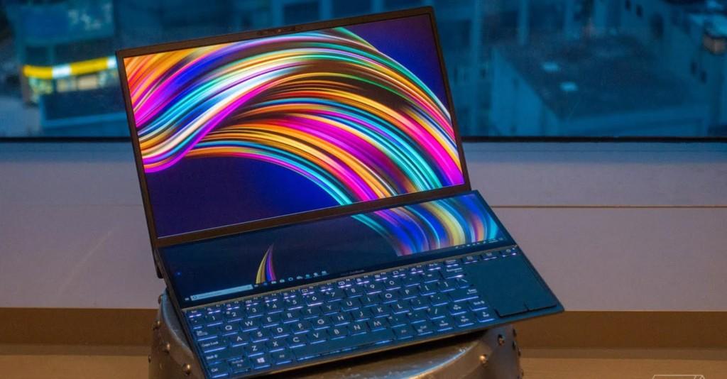 Asus ZenBook Pro Duo è il primo laptop al mondo con doppio schermo in 4K