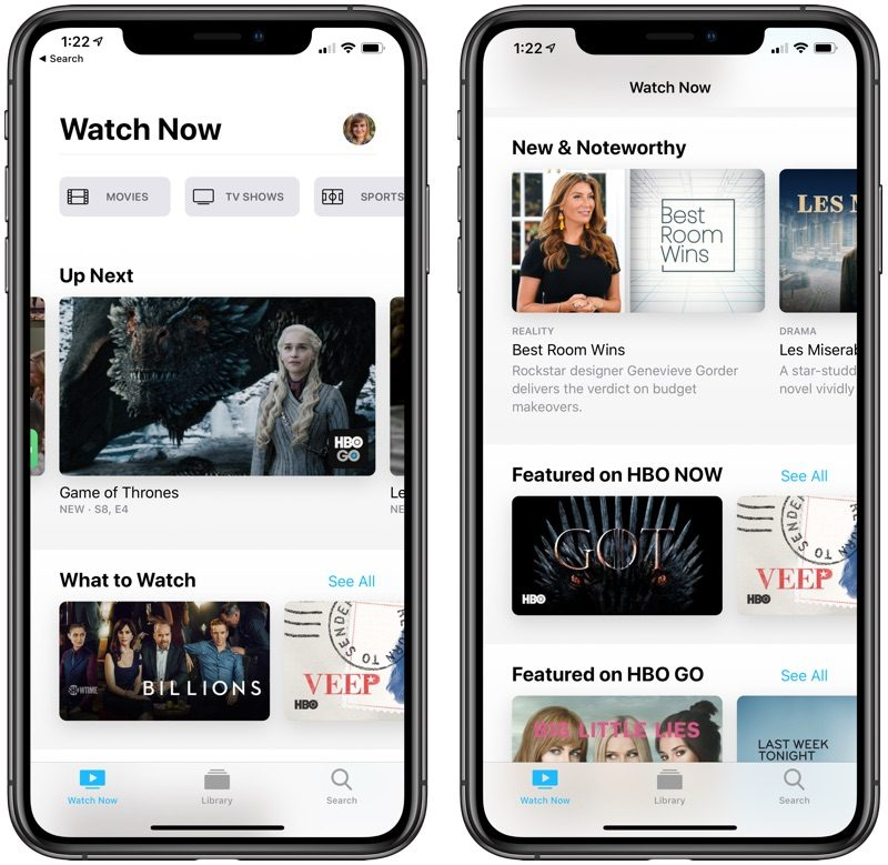Nuova app Apple TV e AirPlay 2 e iTunes sui TV Samsung