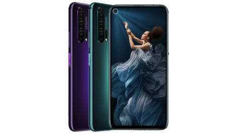 Honor 20 Pro home