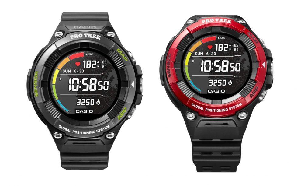 Casio Pro Trek WSD-F21HR: arriva il cardiofrequenzimetro