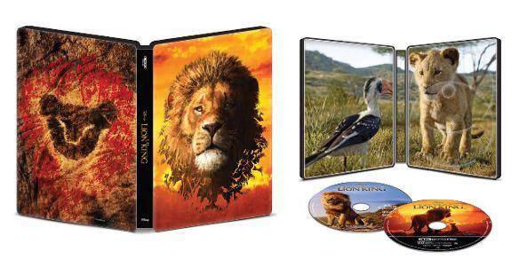 Steelbook 4K anche per Il re leone