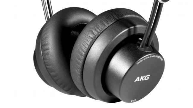 Cuffie da studio AKG K175 – La recensione