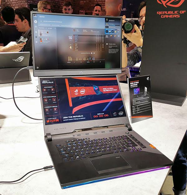 Asus ROG Strix XG17: il monitor gaming portatile con batteria integrata