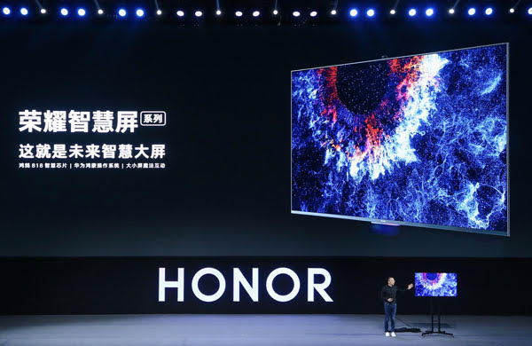 Honor Vision: Smart TV 4K con fotocamera pop-up e Harmony OS