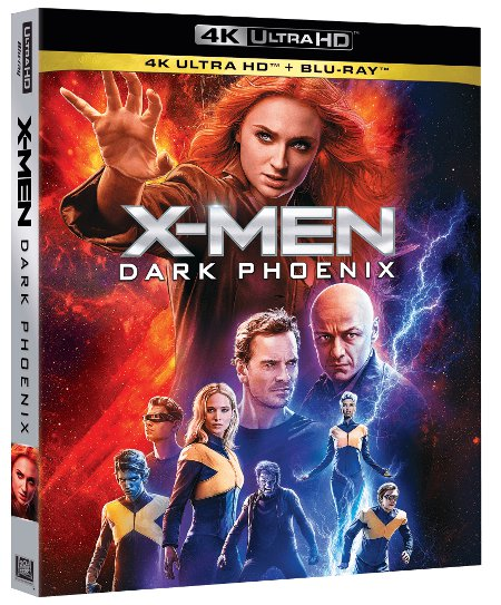 X-Men Dark Phoenix: tutte le edizioni Home Video