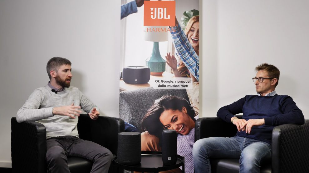 intervista JBL Harman audio connesso