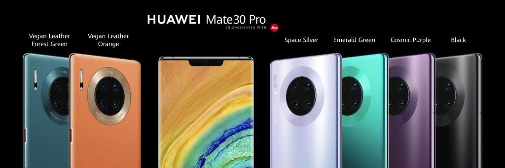 Huawei Mate 30: ufficiali i nuovi top di gamma senza Google Play