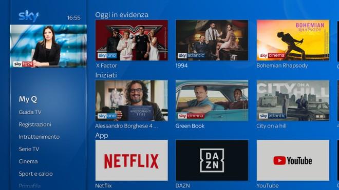Netflix approda su Sky Q: si parte il 9 ottobre a 9,99 euro al mese