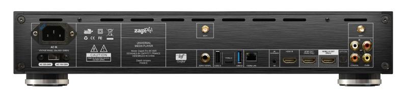 Zappiti: ecco il nuovo lettore multimediale Pro 4K HDR Audiocom Cinema Edition