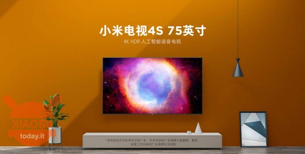 Xiaomi Mi TV 4 – In Italia da gennaio 2020