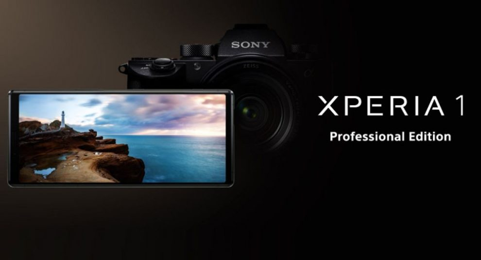 Xperia 1 Professional Edition Home