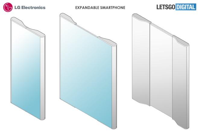 Lo smartphone foldable di LG sarà simile a un rotolo di pergamena?