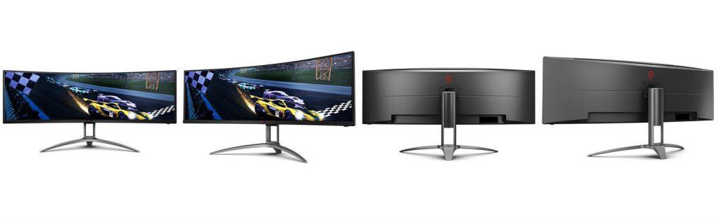 AOC AGON G493UCX: monitor da gaming in formato Super Ultra-Wide