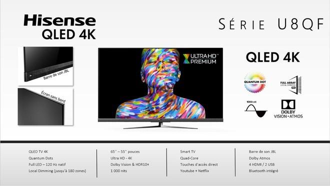 Tre nuove gamme di TV QLED per Hisense… e c'è anche un nuovo 8K