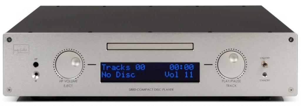 Cd Player S800 - Canto del cigno di Mitchell & Johson