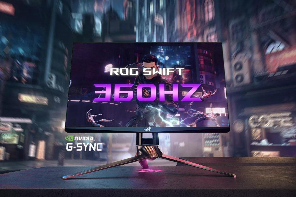 CES 2020: Asus e Nvidia insieme per il primo monitor al mondo da 360Hz