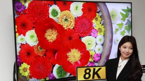 TV 8K: il milione di pezzi venduti è rimandato al prossimo anno