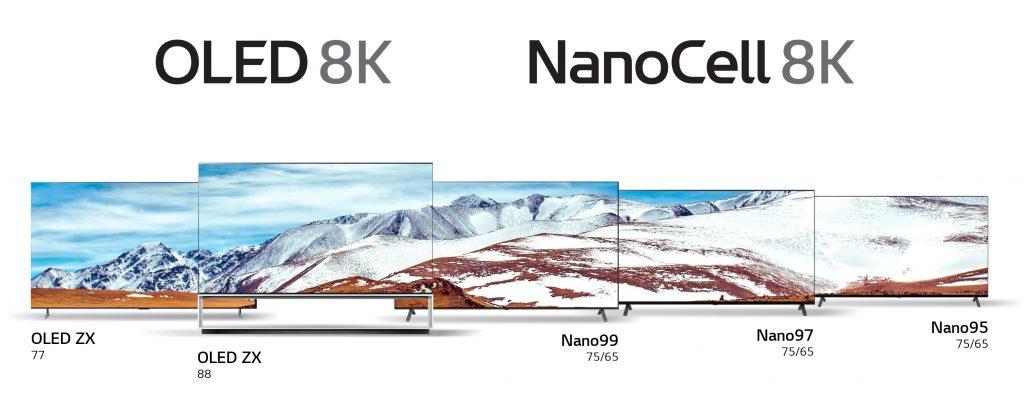 CES 2020: ecco tutti i nuovi TV 8K di LG tra OLED e NanoCell