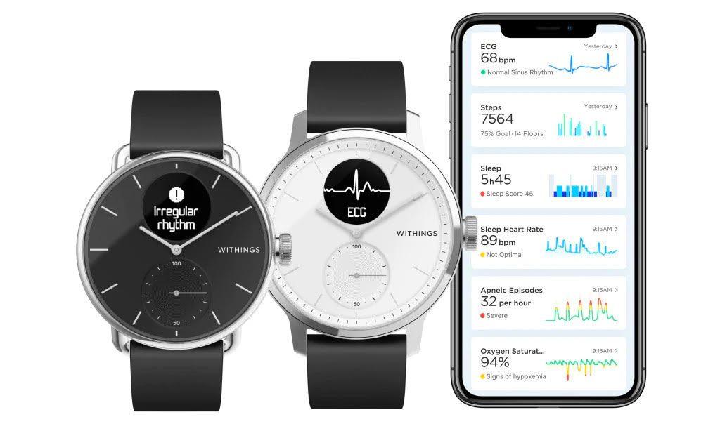 Withings ScanWatch: funzioni da smartwatch in un orologio classico