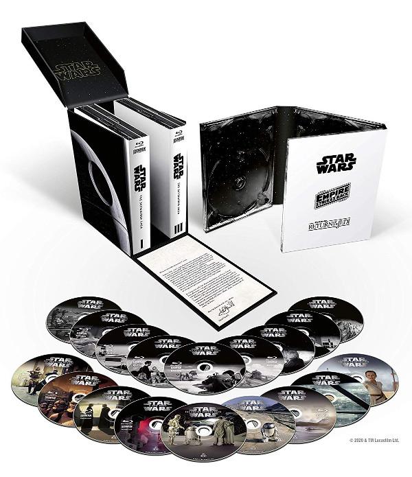 Star Wars UHD: dati delle edizioni