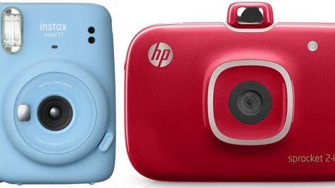 Fujifilm Instax Mini 11 e HP Sprocket 2 in 1: la fotografia è un gioco da ragazzi