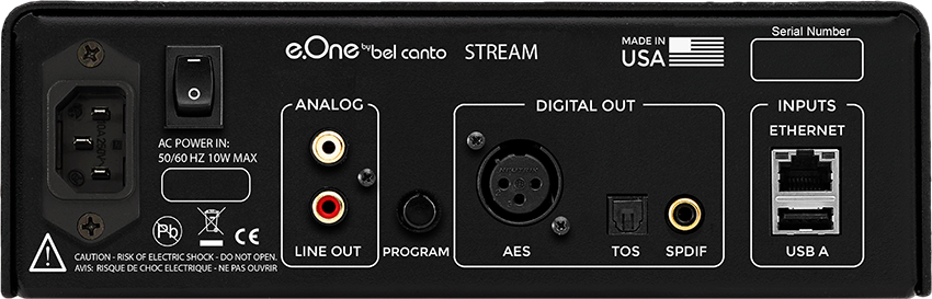 Streamer Bel Canto e.One Stream – La recensione