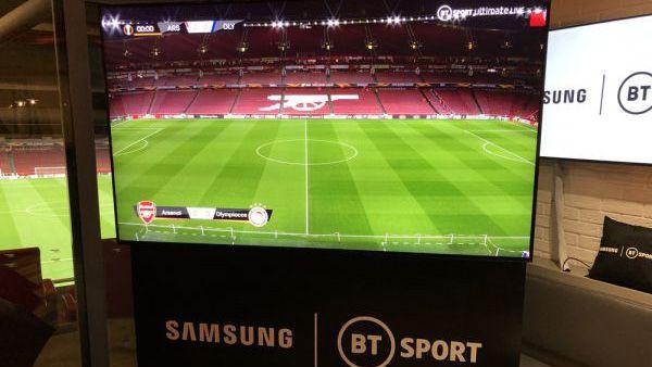 Calcio in 8K: in Gran Bretagna BT Sport inizierà questa estate