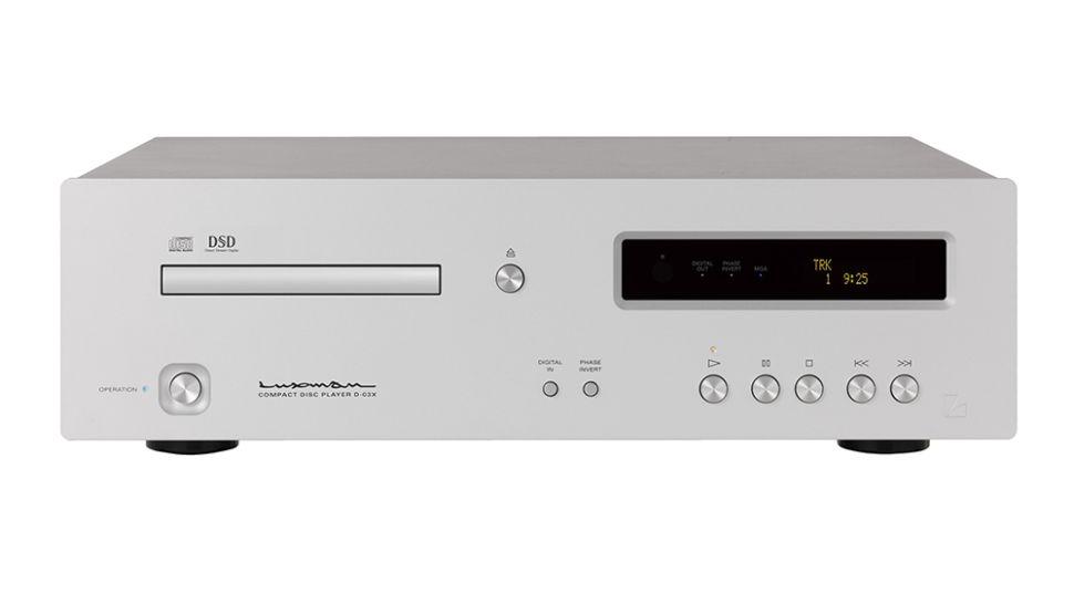 Luxman D-03X: il lettore CD amante dell'alta risoluzione