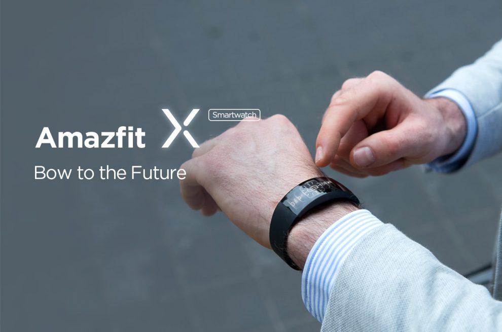 Huami Amazfit X: lo smartwatch con schermo curvo