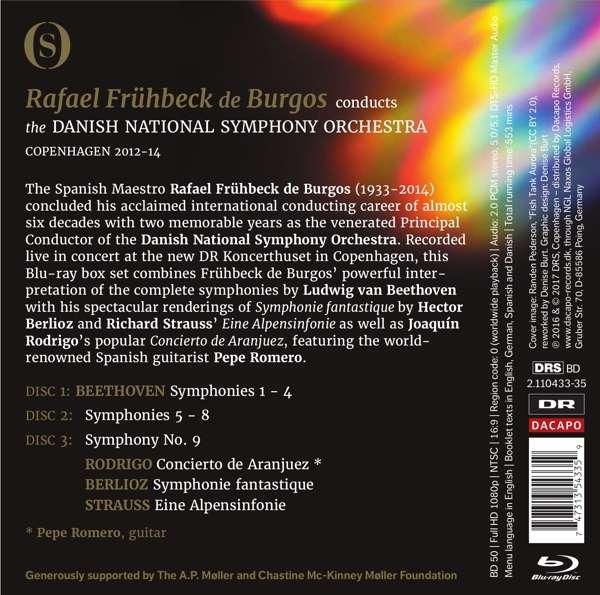 Rafael Frühbeck de Burgos interpreta Beethoven