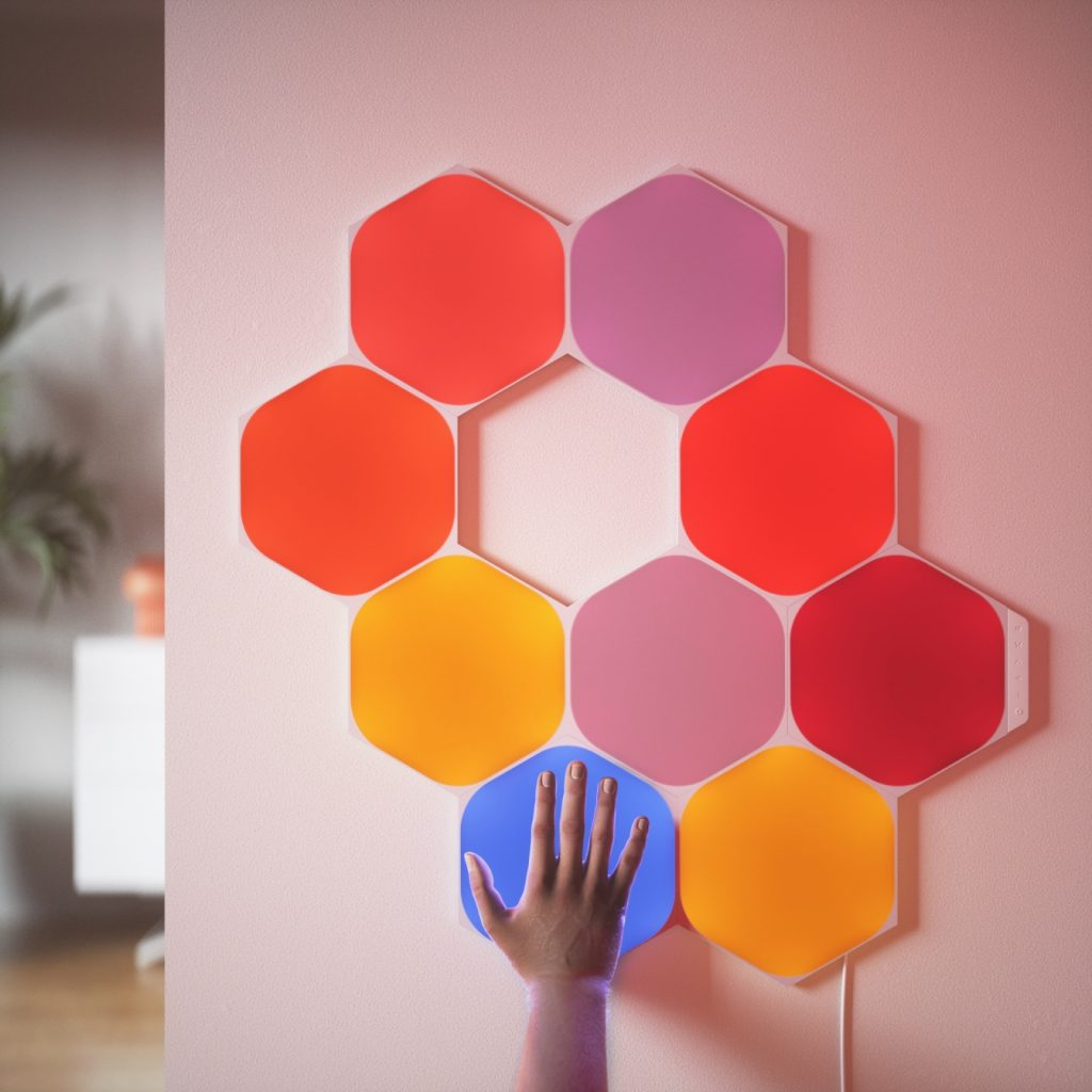 Nanoleaf Shapes: l'illuminazione smart si fa esagonale
