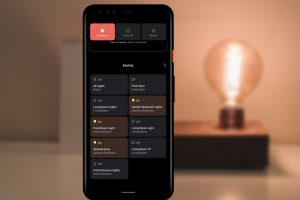 Android 11 beta e controlli smart home