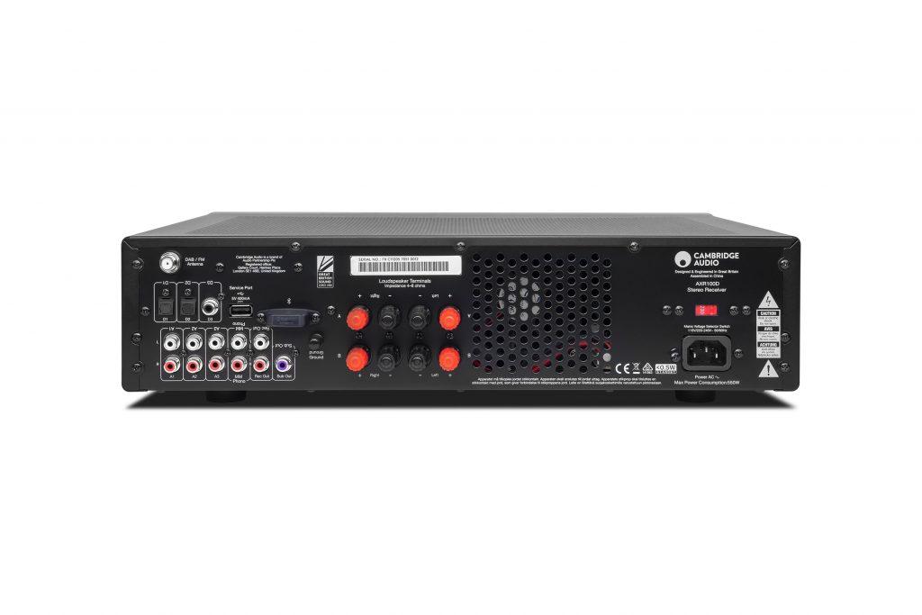 Cambridge Audio AXR100D: il ricevitore stereo con radio digitale