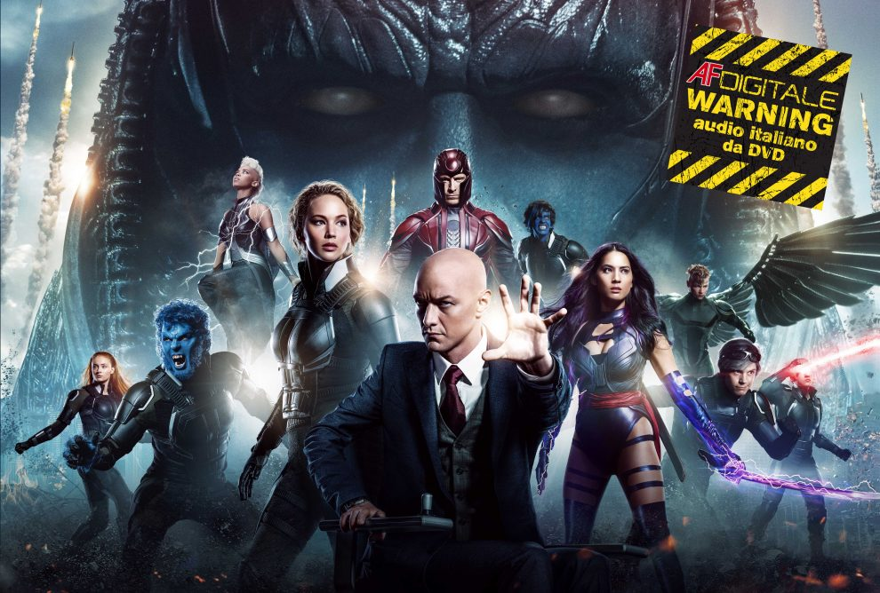 X-Men Apocalisse cover