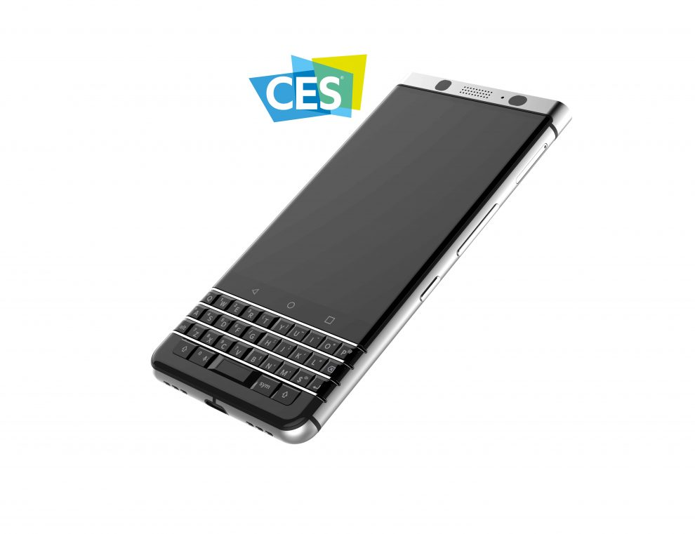 CES 2017: Torna il BlackBerry con tastiera integrata
