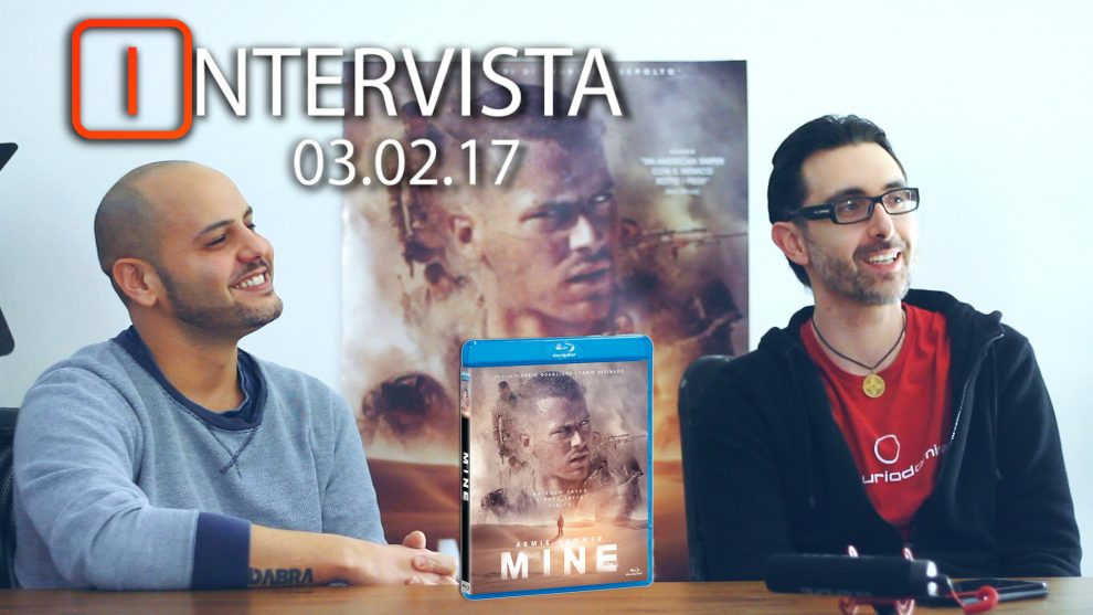 Video intervista ai registi di Mine: Fabio Guaglione e Fabio Resinaro.