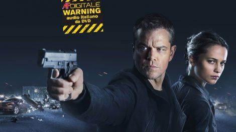 Jason Bourne 2016 recensione AF Digitale