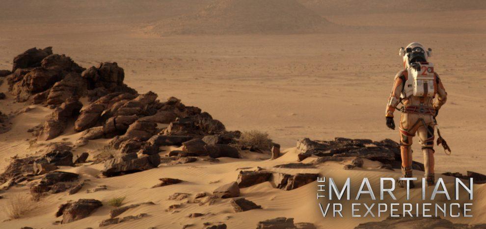 The Martian VR Experience: PS4 vi abbandona su Marte