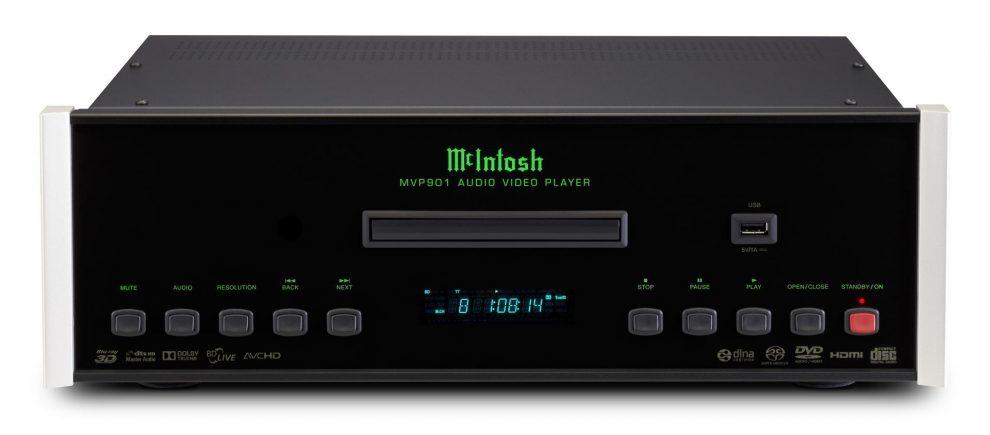 McIntosh: player Blu-ray, preampli e un phono